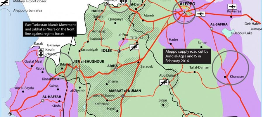 ما السبيل لمنع تنظيم «القاعدة» من الاستيلاء على منطقة آمنة في شمال غرب سوريا؟