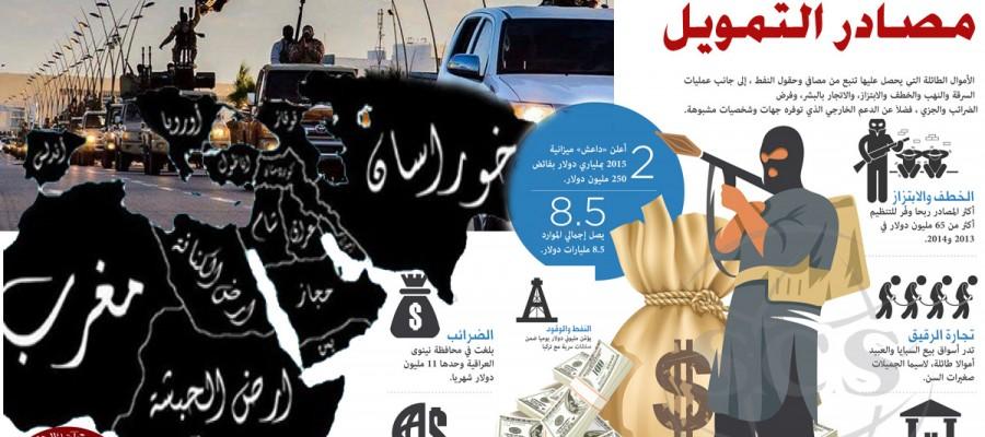 من صنع «داعش».. وما مصادر تمويلها؟