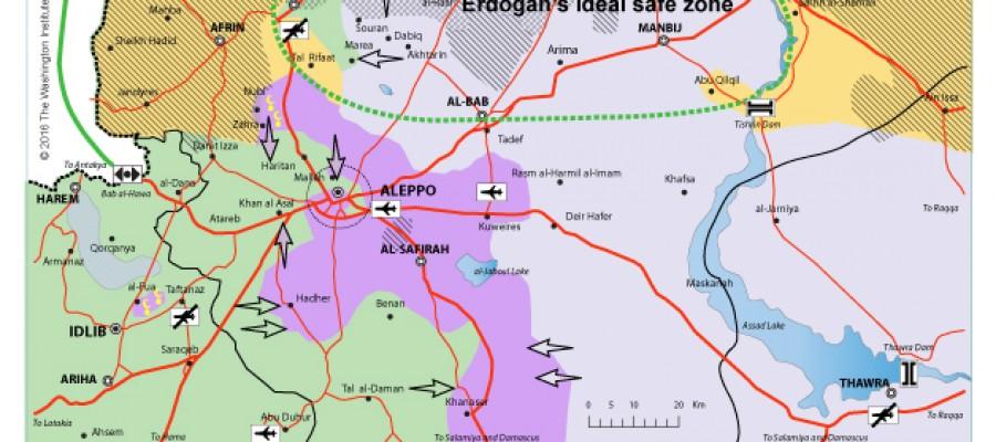 أحدث معركة في حلب قد تؤجل مرة أخرى عملية عسكرية ضد تنظيم «داعش»