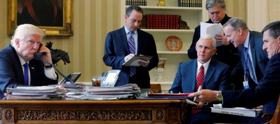 أزمات البيت الأبيض وسياسات ترامب الشرق أوسطية.. معطِّلات وتراجعات!